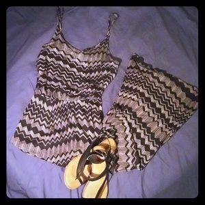Lush maxi dress S